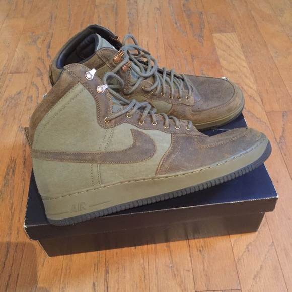 Hi Dcn Military Nike Force 1 Air Nwot mnN08w
